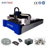cortadora del laser de la fibra 1000W para el acero inoxidable y el acero de carbón