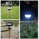 クリスタルグラスの太陽棒LEDのパスの庭ライト