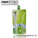 Danqing passte Entwurfs-Tülle-Beutel-Düsen-Beutel für Saft an