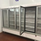 Multi Glastür-kalte Getränk-Bildschirmanzeige-aufrechter Kühlraum