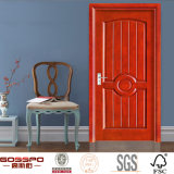 Disegno di legno interno del portello del compensato occidentale di stile (GSP6-008)