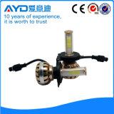 Bulbo da cabeça do carro do diodo emissor de luz do CREE H4 feito em China