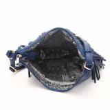 形のフリンジの女性のCrossbody粋な三日月形の袋(MBNO040064)