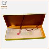 Cartón de papel personalizado joyería magnética regalo caja de embalaje de lujo barata para Ring hecho en China