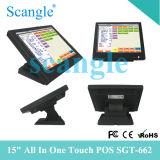 15 pouces Tout dans un écran tactile Système POS Sgt662