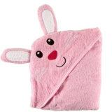 赤ん坊の綿の浴室毛布のフード付きタオル