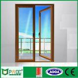 Дверь Casement As2047 алюминиевая Profle стеклянная с застекляя панелью