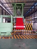 Material para techos galvanizado cubierto color del metal de Corrugatd PPGI para los materiales de construcción