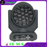 Des Bienen-Augen-19X15W RGBW LED Beleuchtung Summen-bewegliche des Kopf-DMX