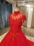 新しい到着2017の赤い結婚のウェディングドレス