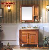 Vanité en bois classiques de salle de bains avec le lavabo (GSP9-012)