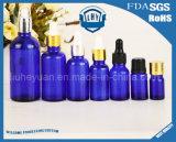 Frascos de perfume azuis de primeira qualidade 5ml dos frascos de petróleo---100ml