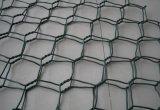 안핑 6각형 철망사 상자, Gabion 상자 6각형 철망사 공장, 직류 전기를 통한 6각형 철망사 검술