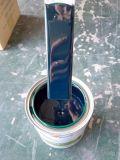 Kit auto de la pintura del coche de la carrocería del esmalte de la restauración de acrílico amarilla eléctrica de la sola etapa