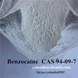 Waterstofchloride Benzocaine/Benzocaine 200mesh van de Drug van het Verdovingsmiddel van de Zuiverheid van 99% het Lokale