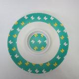 Bambusfaser-Chips u. BAD Umhüllung-Tellersegment-Umhüllung-Platten-Paisley-Entwurfs-Tafelgeschirr