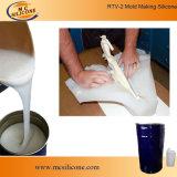 Caoutchouc de silicones RTV2 pour la fabrication concrète de moulage de balustre