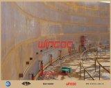 Levage hydraulique de réservoir vers le haut du système