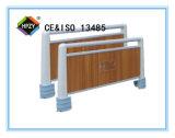 (D-40) Pista de la base del ABS con color de madera