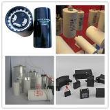 Конденсатор старта мотора AC конденсатора рефрижерации алюминиевый