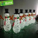 Симпатичный и высокий водоустойчивый свет снеговика высокого качества СИД украшения рождества
