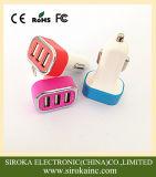 Aluminium 3 dreifache USB-Handy-Auto-Aufladeeinheit