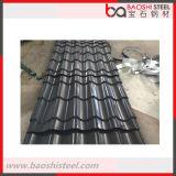 Folha ondulada Textured decorativa de aço do alumínio do zinco de Baoshi