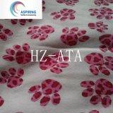 Tessuto 100% della flanella del plaid di Whitecolor del cotone