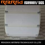 Modifiche di piccola dimensione del contrassegno dello straniero H3 RFID del documento termico