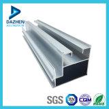 Profil en aluminium de revêtement de matériau de construction de porte enduite de guichet de poudre