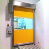 Puerta rápida plástica durable económica de la persiana enrrollable del rodillo (HF-314)