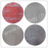 7 датчик Red&Grey смешал перчатки связанные шнуром Dck512 хлопка
