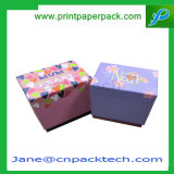Kundenspezifischer steifer überzogenes Papier-Oberseite-und Unterseiten-Kappen-Kasten-runder Tee-verpackengeschenk-Kasten