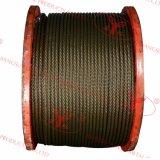 Cordes de fil d'acier d'Ungalvanized - 6X36ws