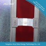 colector solar solar plano arriba eficiente de la placa plana del calentador de agua de la azotea del chalet 300L