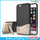 Cajas híbridas del teléfono móvil de Kickstand para el caso del iPhone 6