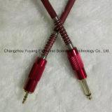 6.35 Monostecker 3.5 zum StereoAV/Music Instrument-Kabel
