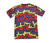 T-shirt de emballage extérieur de modèle de teeshirt courant coloré de sport (T5040)