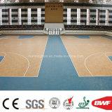 El vinilo de interior popular del baloncesto del arce se divierte el modelo de madera 8.0m m del suelo