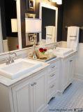 Vaidade dobro personalizadas do banheiro do abanador de Vinly do estilo painel moderno europeu