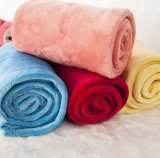 Suave manta cama de matrimonio Fleece