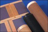 Покрынная тефлоном конвейерная сетки стеклоткани открытая