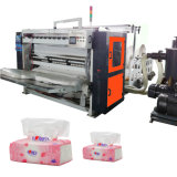 Cadena de producción plegable del tejido de papel facial de 4 carriles