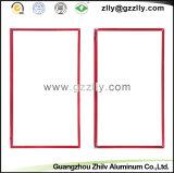 장식적인 밝은 빨간 알루미늄 부속품 창틀 건축재료