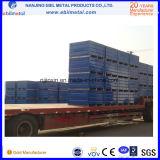Paletes de caixa de aço de tipo fixo de serviço pesado (EBILMETAL-SBP)