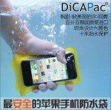 Bolso/bolsa/cubierta impermeables al aire libre del teléfono del PVC que acampan para iPhone5