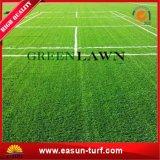Tapete artificial do tapete da grama do relvado e da grama da falsificação para o jardim
