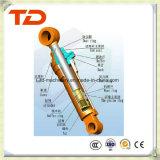 Cilindro do petróleo do conjunto do cilindro hidráulico do cilindro do braço de Doosan Dh130-7 para peças sobresselentes do cilindro da máquina escavadora da esteira rolante