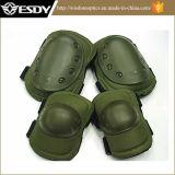 緑色の新しく戦術的な膝および肘の保護パッド