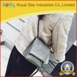 Saco de ombro de couro macio do estilo do vintage da forma do plutônio das mulheres